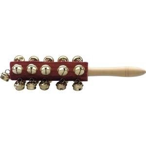 21 Glocken Schlitten-Glöckchen auf einem Stick Set
