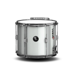 Lefima Parade Double Snare UltraLeicht weiss / chrom