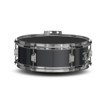 Lefima Marching Snare Drum UltraLeicht Holz schwarz / chrom