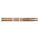 Promark Bring Your Own Style BYOS FireGrain Hickory Marching Stick mit Holztip